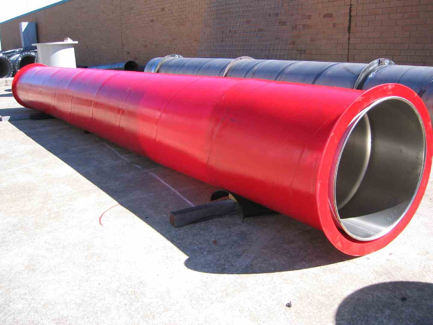 Dredge pipe polyurethane lined archives east coast