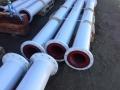Polyurethane lined spools 28