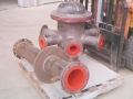 polyurethane lined pressure distributor
