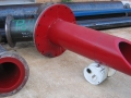 polyurethane lined pump suction and discharge