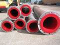 polyurethane lined steel pipes