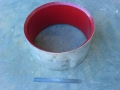 Polyurethane lined dresser ring