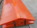 polyurethane crossover pads