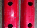 underground mining vehicle bumpers