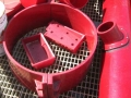 gibble joint clamp polyurethane lined