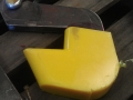 polyurethane coated hook for pipe protection