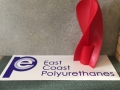 prototype using 3d printer to produce mould sf then polyurethane product