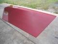 shaker table polyurethane mat