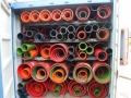 solid polyurethane launders