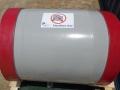 Large 650nb polyurethane lined spools with turned backs