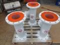 Polyurethane lined spools 2