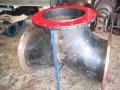 polyurethene lined large Y spool