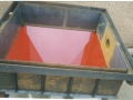 Large hopper lined with Polyurethane