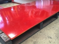 dual colour polyurethane wear liner