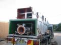 polyurethane lined trash chute