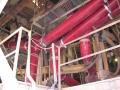 polyurethane launders installed