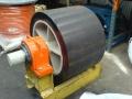 Polyurethane lined Trommel Wheel